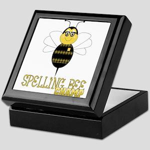 Spelling Bee Champ Keepsake Box