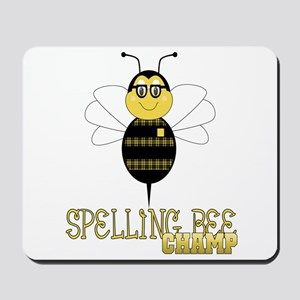 Spelling Bee Champ Mousepad