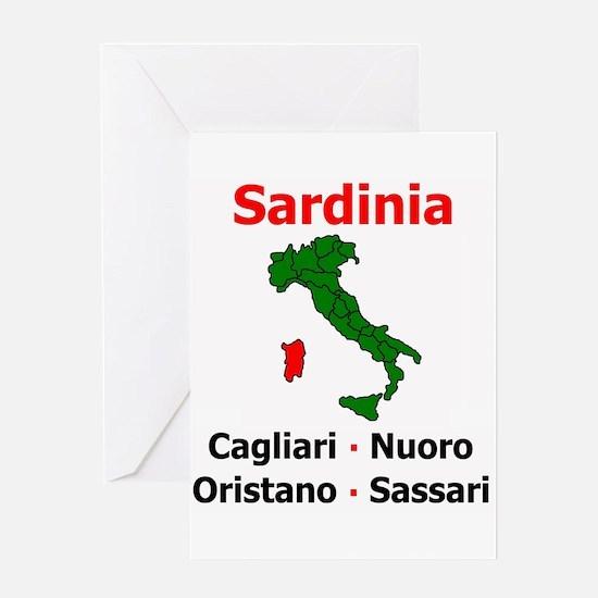 Sardinia Greeting Card