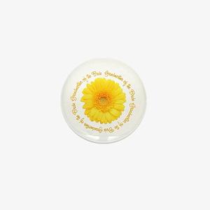 Yellow Daisy Bride's Grandmother Mini Button