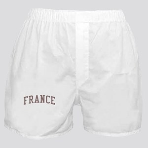 France Red Boxer Shorts