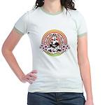 Buddha Jr. Ringer T-Shirt