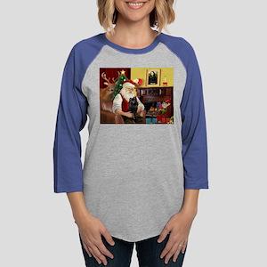 Santa's Schipperke Long Sleeve T-Shirt