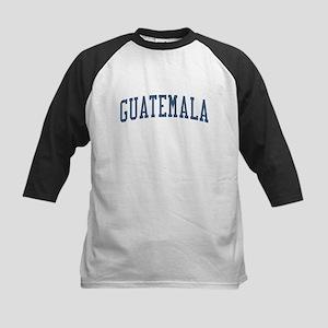 Guatemala Blue Kids Baseball Jersey