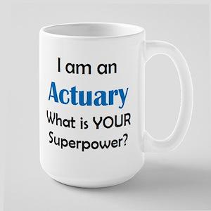 actuary 15 oz Ceramic Large Mug