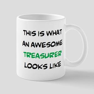 awesome treasurer 11 oz Ceramic Mug