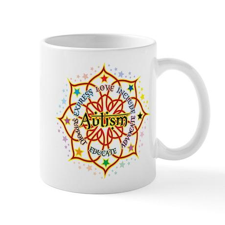 Autism Lotus Mug