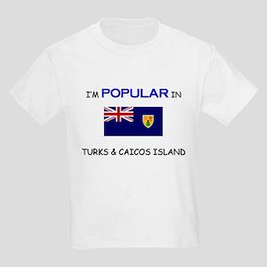I'm Popular In TURKS & CAICOS ISLAND Kids Light T-