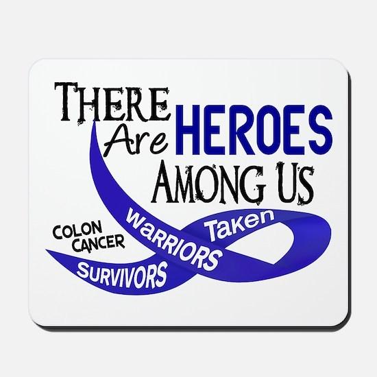 Heroes Among Us COLON CANCER Mousepad