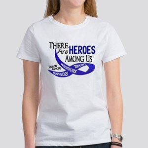 Heroes Among Us COLON CANCER Women's T-Shirt