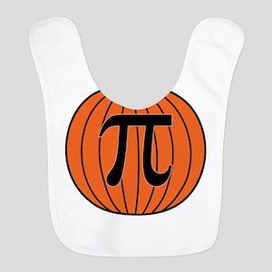 Pumpkin Pi Polyester Baby Bib