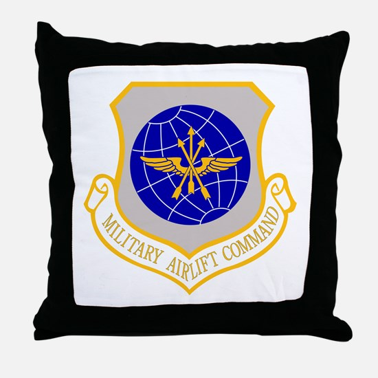 Airlift Command Throw Pillow