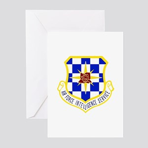 Intelligence Service Greeting Cards (Pk of 10)