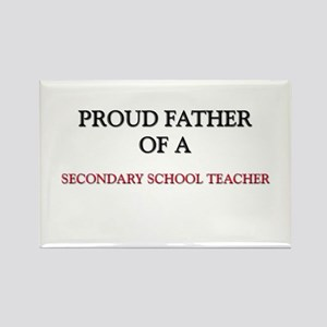 Proud Father Of A SECONDARY SCHOOL TEACHER Rectang