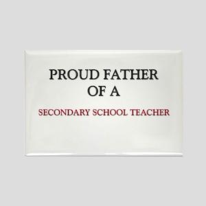 Proud Father Of A SECONDARY SCHOOL TEACHER Rectang