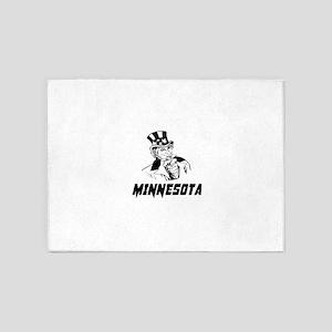 Minnesota Designs 5'x7'Area Rug