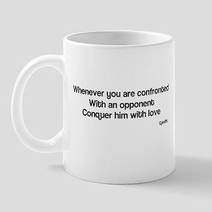 Famous quote Gandhi Mug
