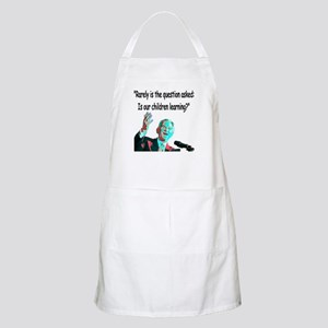 ...Is our children learning? BBQ Apron