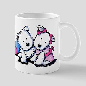 Westie Sweethearts Mug