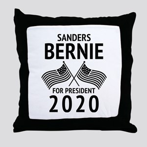 Bernie 2020 Throw Pillow