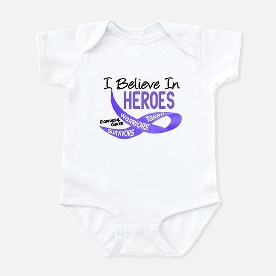 I Believe ESOPHAGEAL CANCER Infant Bodysuit