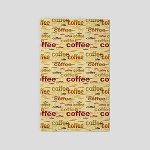 Coffee Area Rug