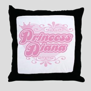 """""""Princess Diana"""" Throw Pillow"""