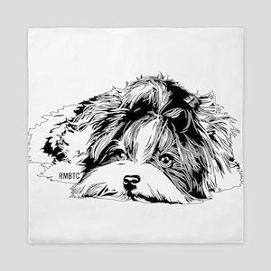 Biewer Terrier Queen Duvet