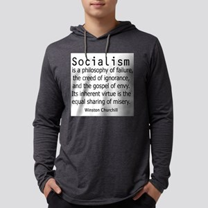 WINSTON CHURCHILL SOCIALISM Long Sleeve T-Shirt