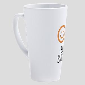 Best Buddies Statement Design 17 oz Latte Mug