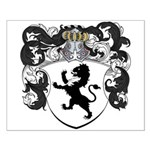 Van Lier Coat of Arms Small Poster