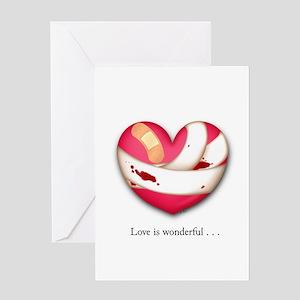 Love is Wonderful Greeting Card