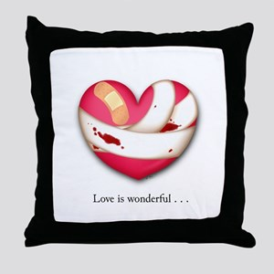 Love is Wonderful Throw Pillow