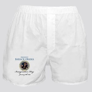 President Obama first black president Boxer Shorts