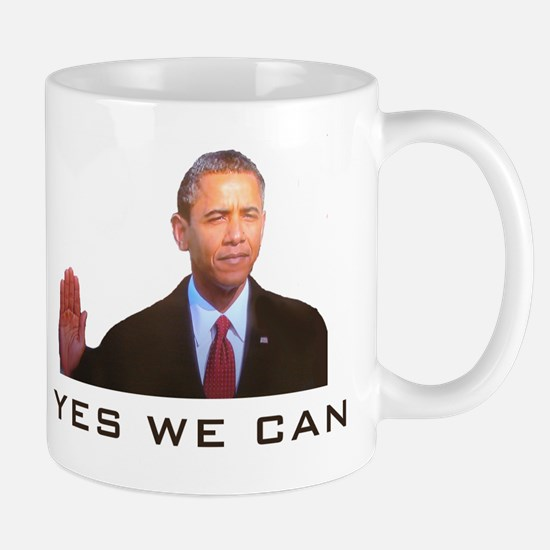 Obama Yes We Can Mug