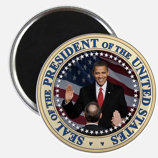 "President Obama inauguration 2.25"" Magnet (10"