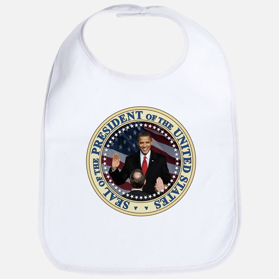President Obama inauguration Bib