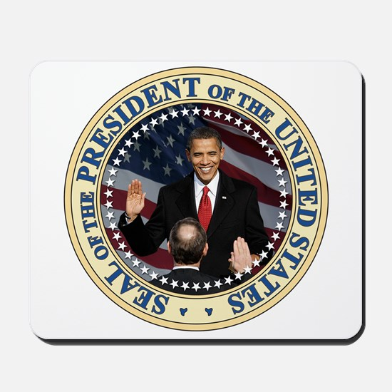 President Obama inauguration Mousepad