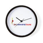 California Women Wall Clock