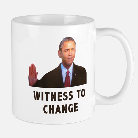 Obama Witness To Change Mug