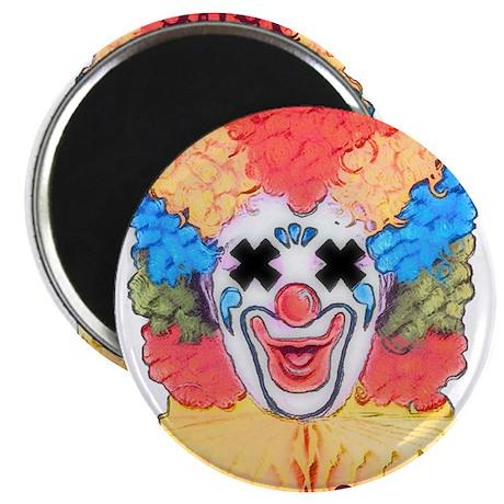 Everyone loves a clown funera Magnet