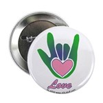 Green/Pink Love Hand 2.25