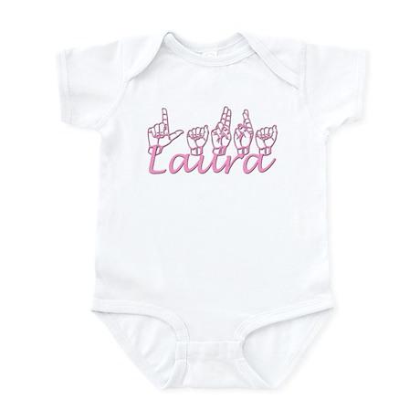 Laura-pnk Infant Bodysuit