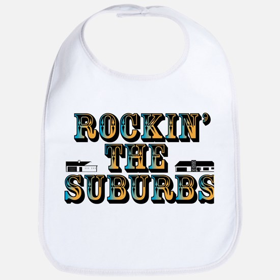 Rockin the Suburbs Bib