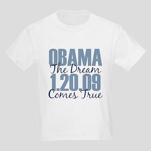 Obama The Dream Comes True Kids Light T-Shirt