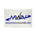MemphisWeather.net Logo Rectangle Magnet (10 pack)
