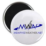 "MemphisWeather.net Logo 2.25"" Magnet (10 pack"