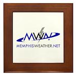 MemphisWeather.net Logo Framed Tile