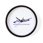 MemphisWeather.net Logo Wall Clock