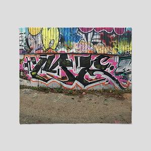 graffiti by me Throw Blanket